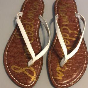 EUC Sam Edelman Gracie sandal size 9.5 white